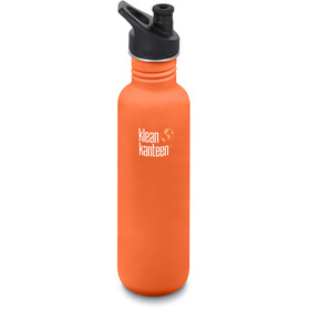 Klean Kanteen Classic Borraccia tappo sport 800ml, sierra sunset matt